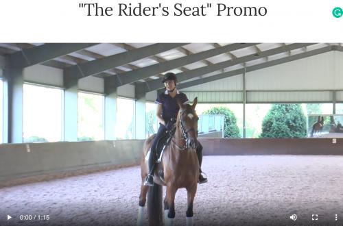 """The Rider's Seat"" Promo"