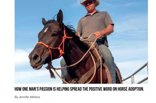 Hagerstown Magazine – The Washington County Cowboy